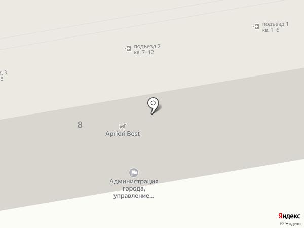Управление образования на карте Чебоксар