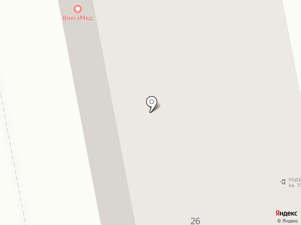 ВолгаМед на карте Чебоксар