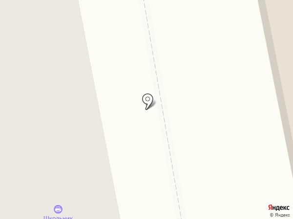 Школьник на карте Чебоксар