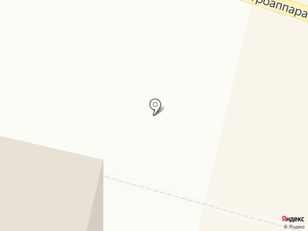 Киоск по продаже шаурмы на карте Чебоксар