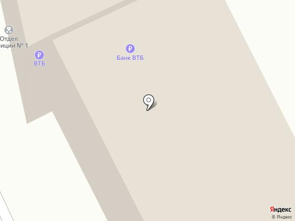 Отделение полиции №1 на карте Чебоксар