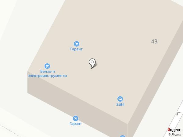 Торговый дом Гарант на карте Чебоксар