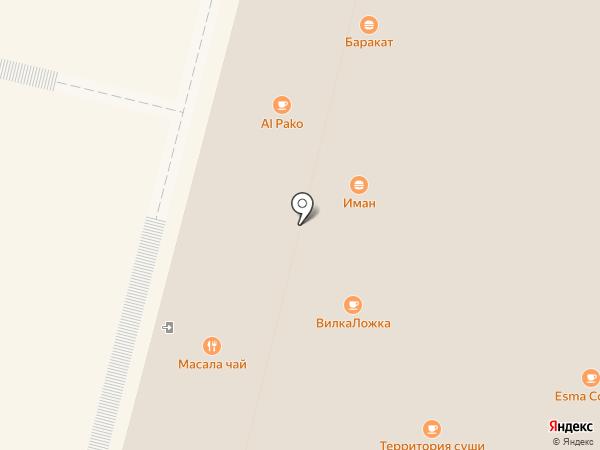 L`amazone на карте Чебоксар