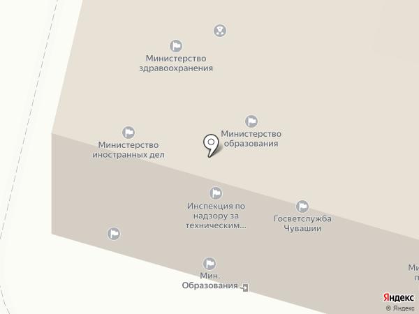 Министерство образования и молодежной политики Чувашской Республики на карте Чебоксар