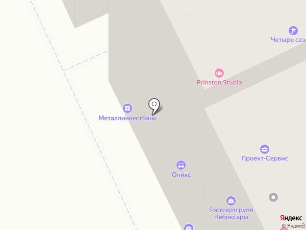 Банкомат, АКБ Металлинвестбанк, ПАО на карте Чебоксар