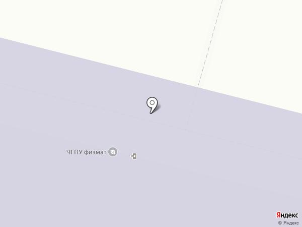 Чувашский государственный педагогический университет им. И.Я. Яковлева на карте Чебоксар