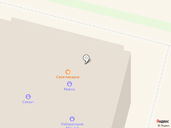 Mатрешка-Girl на карте Чебоксар