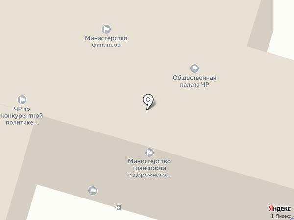Министерство юстиции и имущественных отношений Чувашской Республики на карте Чебоксар