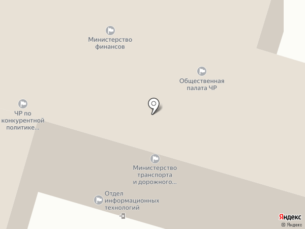 Министерство транспорта и дорожного хозяйства Чувашской Республики на карте Чебоксар