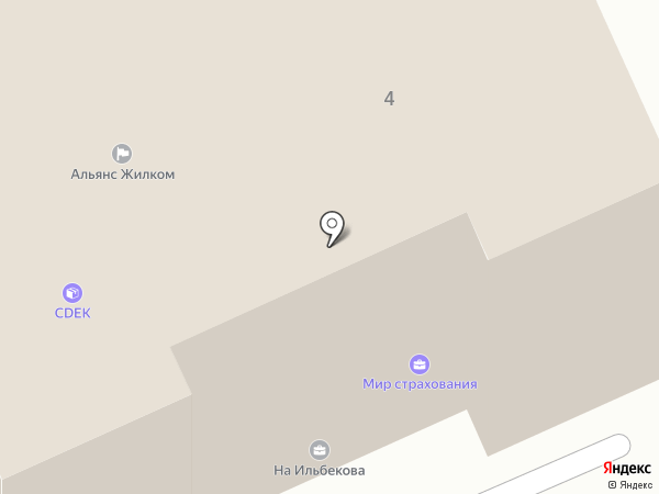 Светозон на карте Чебоксар