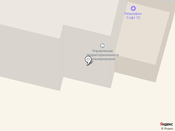 Управление территориального планирования, МБУ на карте Чебоксар