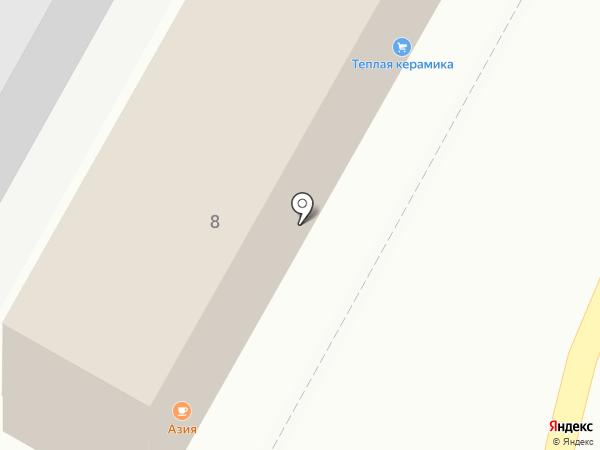 АЗИЯ на карте Чебоксар