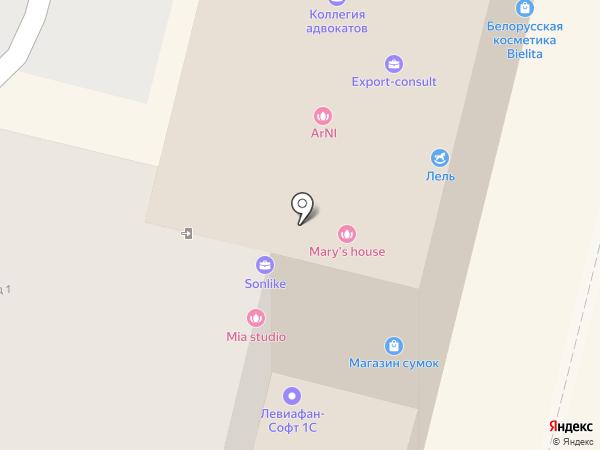 Страж на карте Чебоксар