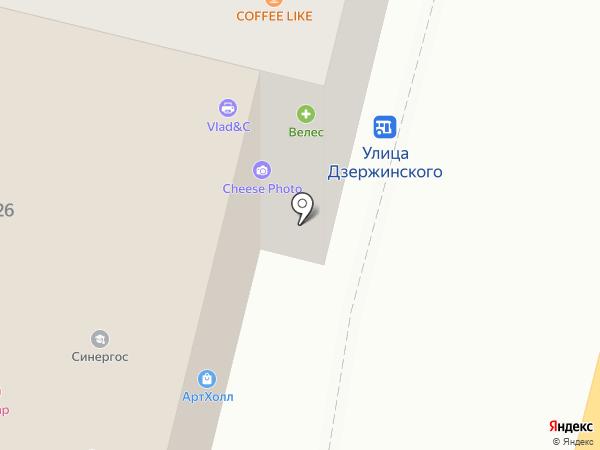 АртХолл на карте Чебоксар