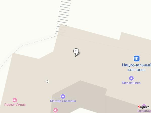 ПЕРВАЯ ЛИНИЯ на карте Чебоксар