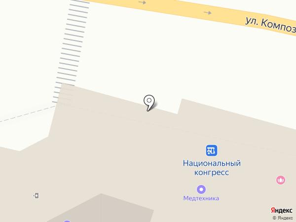 Ладушка на карте Чебоксар
