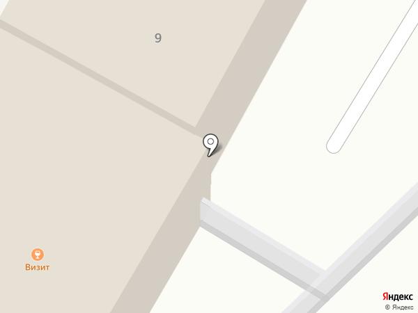 Визит на карте Чебоксар