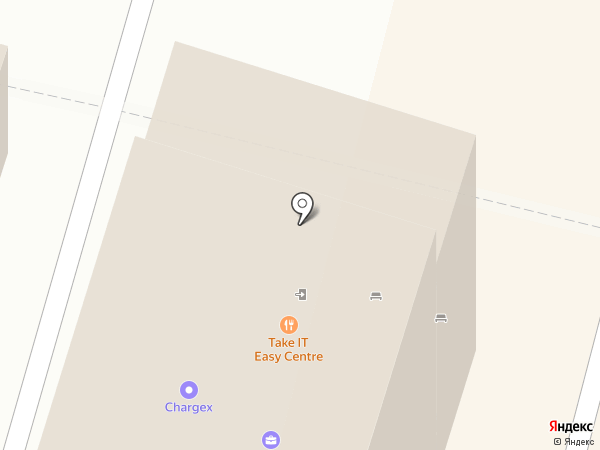 THE ROOF на карте Чебоксар