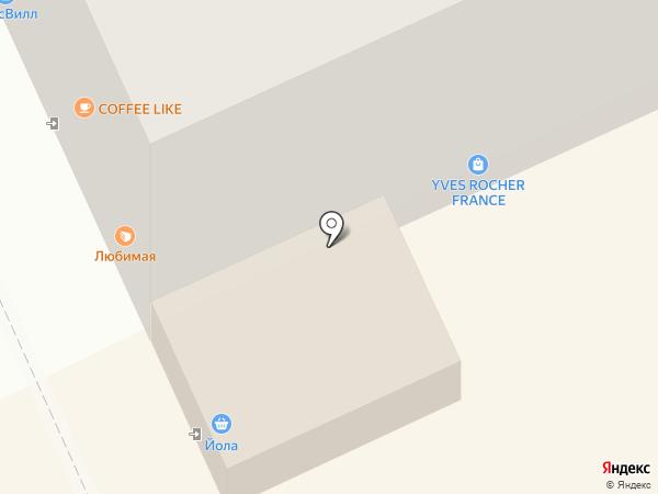 Йола-маркет на карте Чебоксар