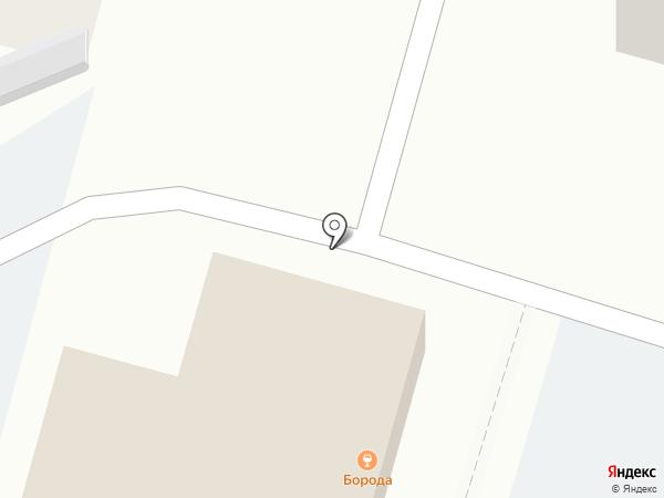 Борода на карте Чебоксар