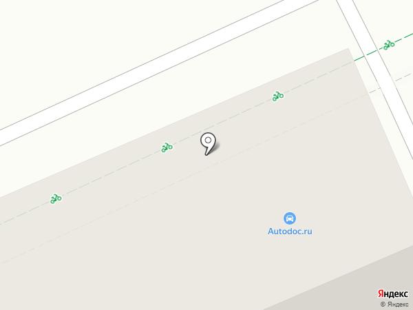 Автодок на карте Чебоксар