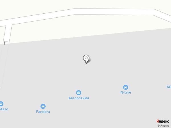 Тонировочка на карте Чебоксар