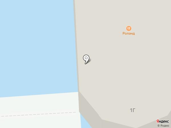 Роланд на карте Чебоксар