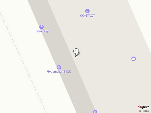 Секонд-хенд на карте Чебоксар