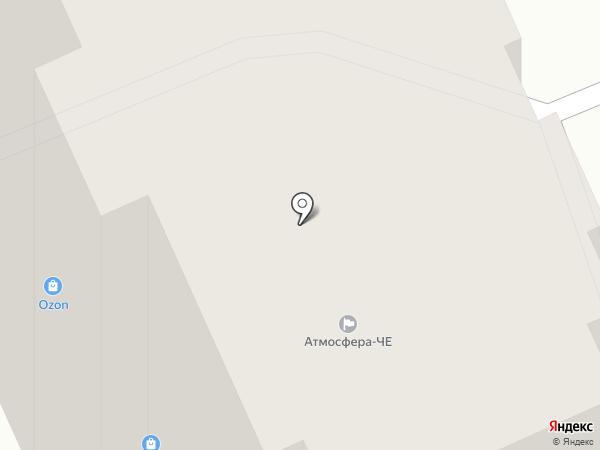 Сакура на карте Чебоксар