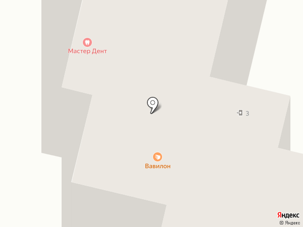 Мистер Дент на карте Чебоксар