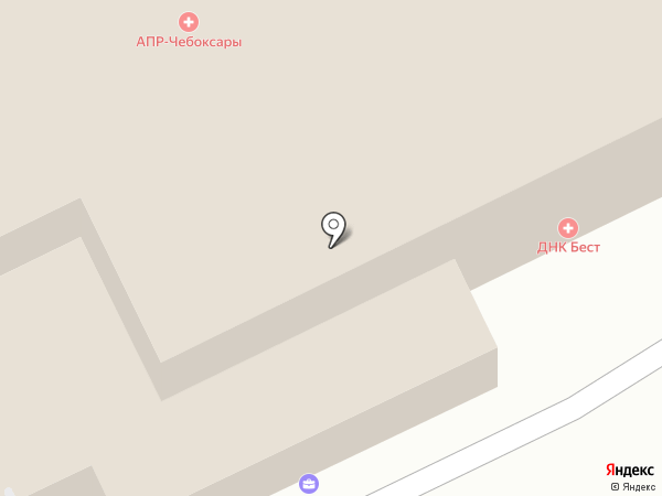 Адвокатский кабинет Коркуновой Ж.Н. на карте Чебоксар
