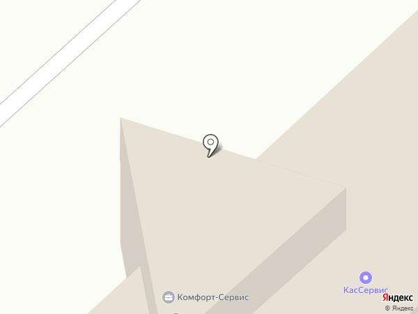Колор на карте Чебоксар