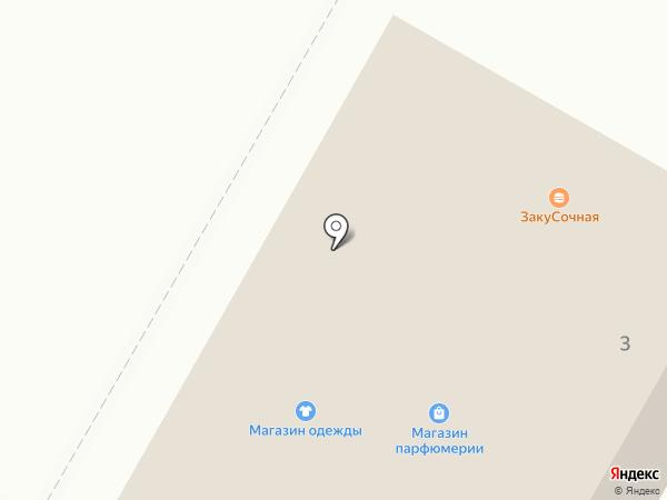 Автодеталь на карте Чебоксар
