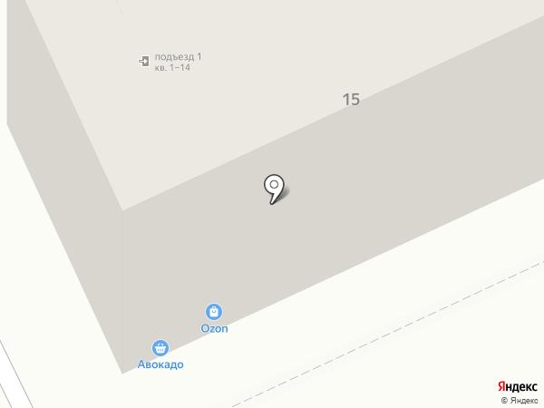 Лукошко на карте Чебоксар