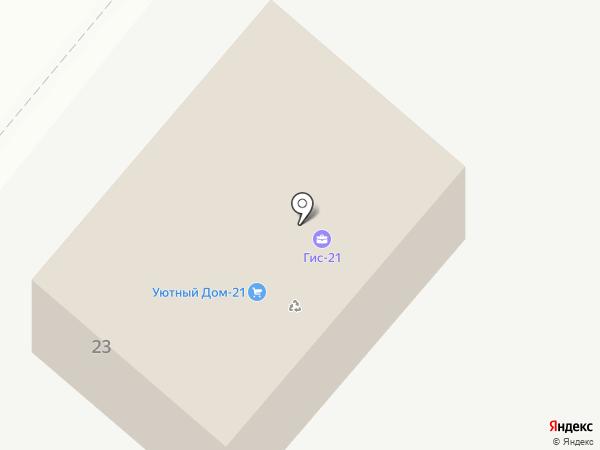 Союзстрой на карте Чебоксар