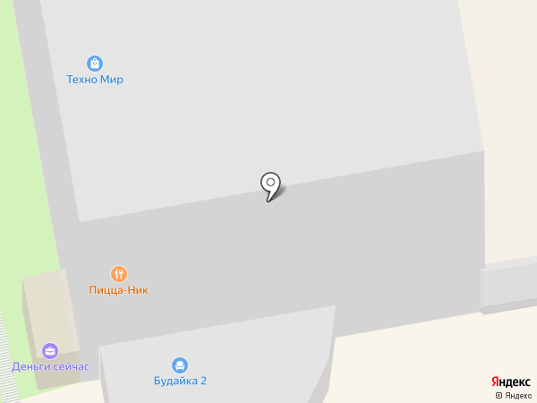 Будайка на карте Чебоксар