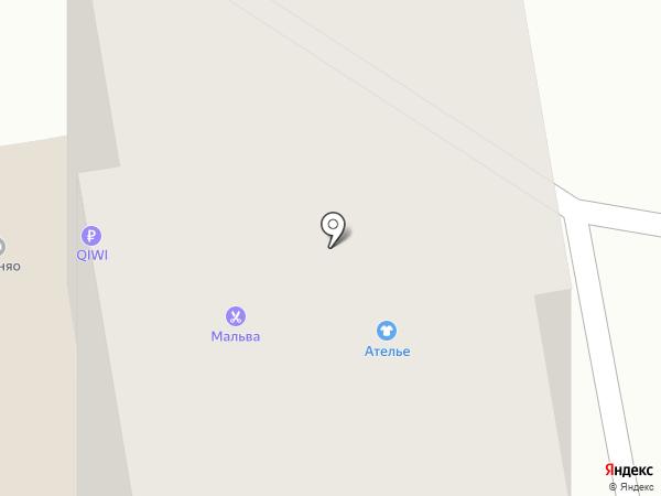 Ателье на карте Чебоксар