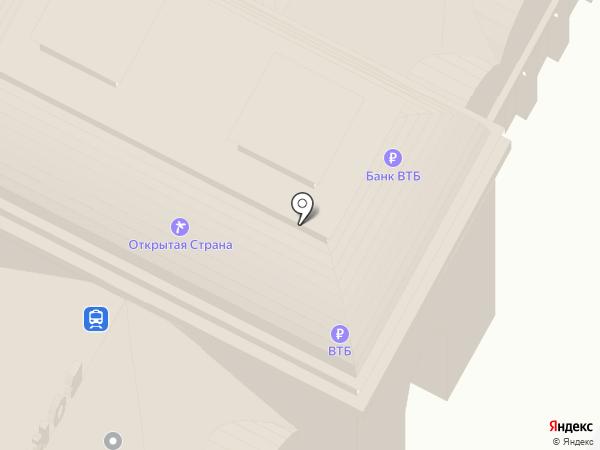 Железнодорожный вокзал на карте Чебоксар