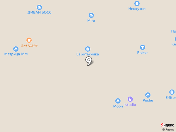 Фьюжн на карте Чебоксар