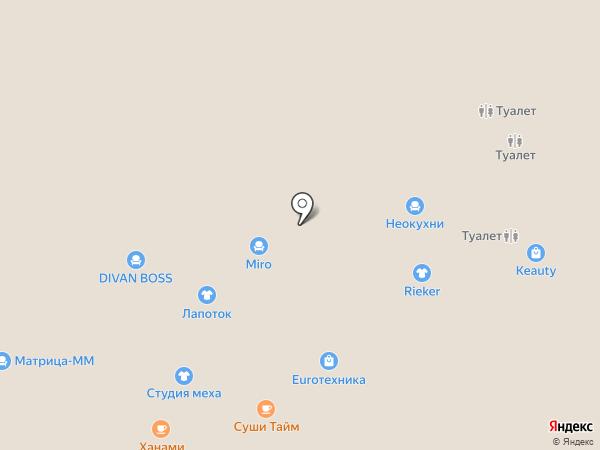 Киноаттракцион 7D на карте Чебоксар