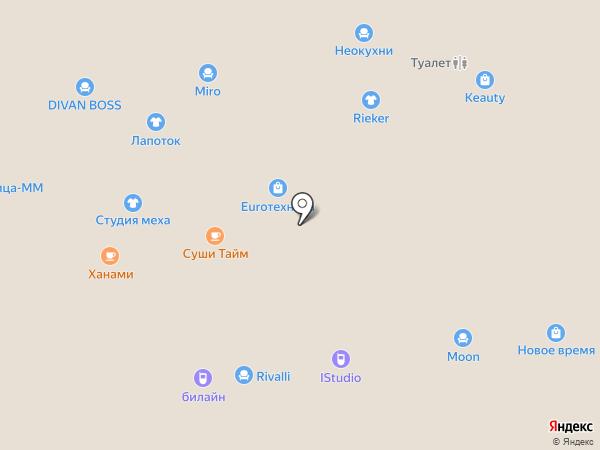 Триколор ТВ на карте Чебоксар