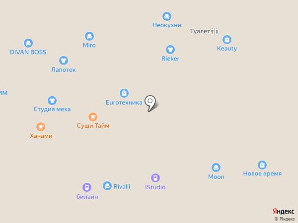 MOON на карте Чебоксар