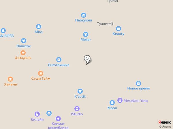 Профессионал на карте Чебоксар