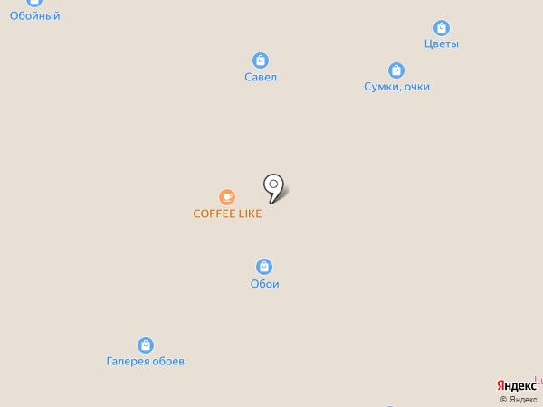 Виза на карте Чебоксар