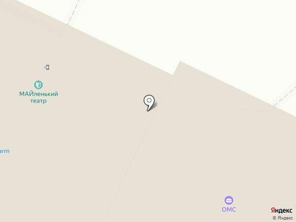 Чебоксарский художественный театр на карте Чебоксар