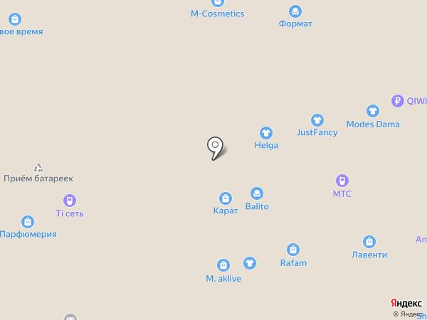 РУНО на карте Чебоксар