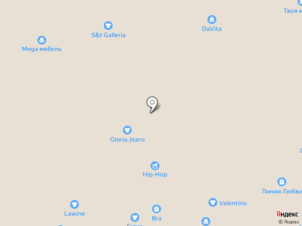 Макинтош на карте Чебоксар