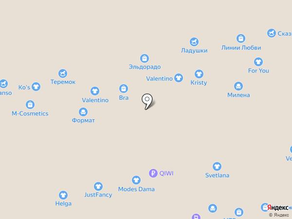 Линии любви на карте Чебоксар