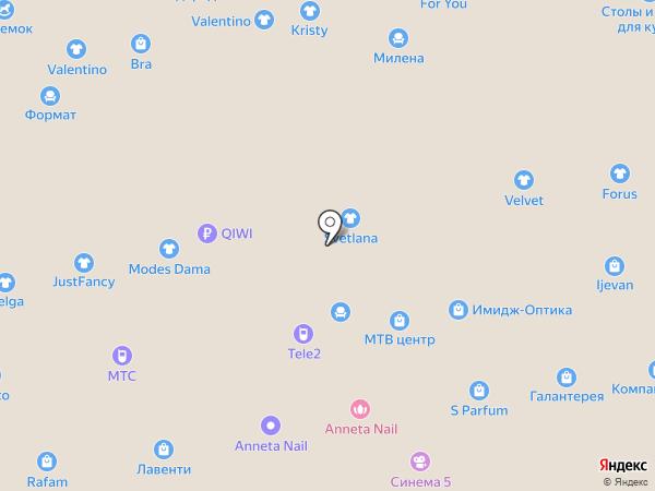 Эстер на карте Чебоксар