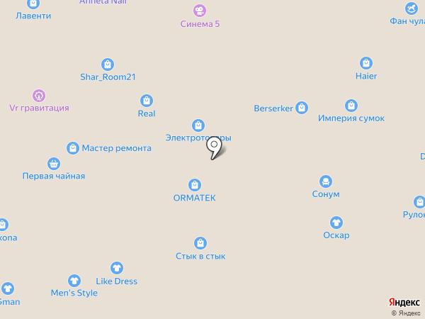 Салон обоев на карте Чебоксар